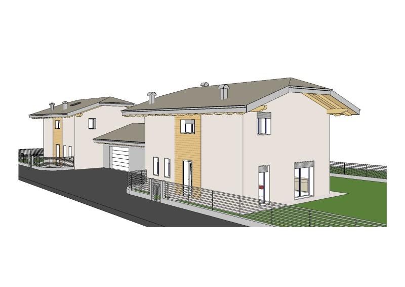 Villette singole a lodrone rv0090 agenzia immobiliare ph for Piani di casa con garage rv in allegato