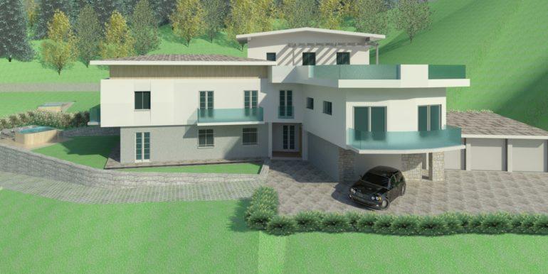 Appartamenti di nuova realizzazione con vista spettacolare sulla bassa valle del Chiese RV0137