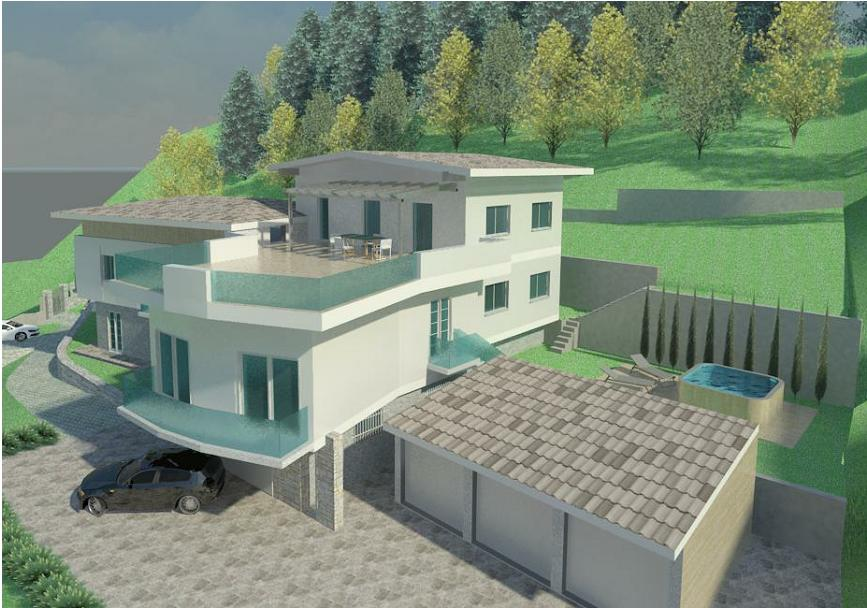 Appartamenti di nuova realizzazione con vista spettacolare sulla bassa valle del Chiese RV0136