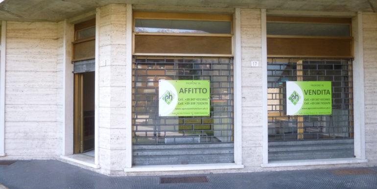Negozio-Ufficio a Ponte Caffaro in zona centrale CV0016
