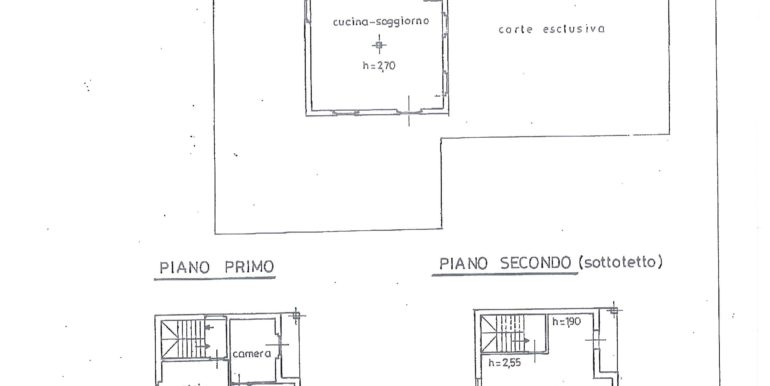 Planimetria cCasa indipendente a Ponte Caffaro RV0104