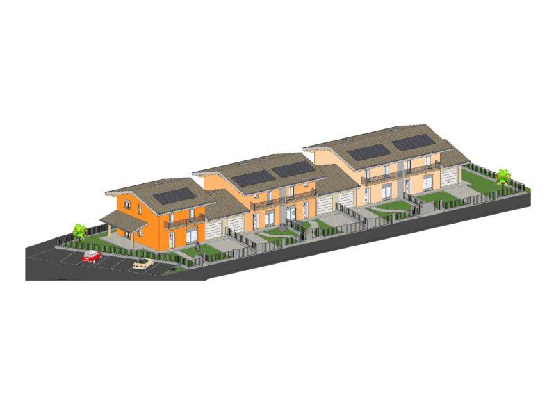 Complesso residenziale di nuova realizzazione a Ponte Caffaro in zona centrale RV0134