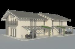 Idea progettuale bifamiliare in zona Storo RV0150