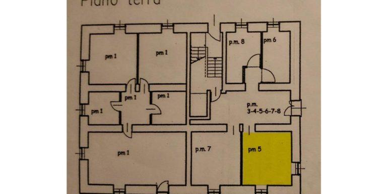 Appartamento a secondo piano a Roncone RV0171