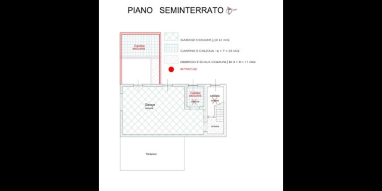 Appartamento a piano rialzato in zona Campini RV0177