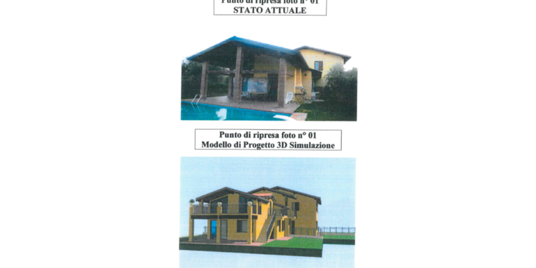 Bifamiliare con piscina privata RV0166